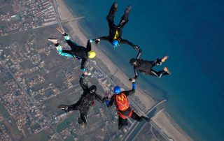 Skydiving AFF Course Group Discount